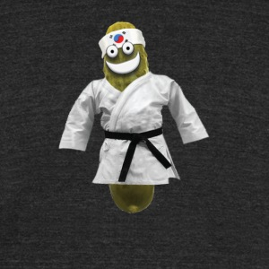 Tae Kwon Do Pickle - Unisex Tri-Blend T-Shirt by American Apparel
