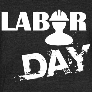 Labor Day Celebration - Unisex Tri-Blend T-Shirt by American Apparel