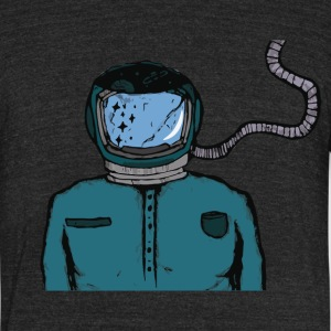 Astrohead - Unisex Tri-Blend T-Shirt by American Apparel