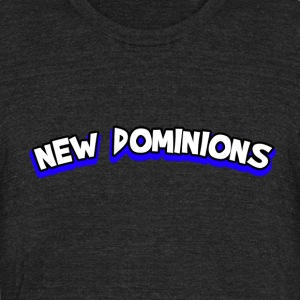 New Dominions Comic Font - Unisex Tri-Blend T-Shirt by American Apparel