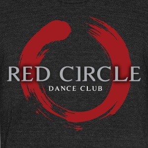 Red Circle - Unisex Tri-Blend T-Shirt by American Apparel