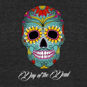 day_of_the_dead_vedatbilik-hjp - Unisex Tri-Blend T-Shirt by American Apparel