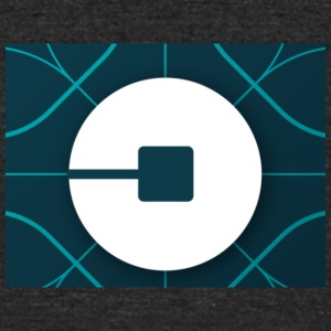 Uber Logo - Unisex Tri-Blend T-Shirt by American Apparel