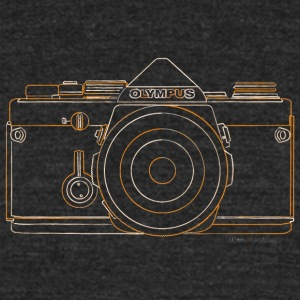 GAS - Olympus OM1 - Unisex Tri-Blend T-Shirt by American Apparel