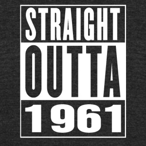 Straight Outa 1961 - Unisex Tri-Blend T-Shirt by American Apparel