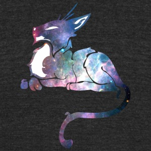 Galaxy_cat_22 - Unisex Tri-Blend T-Shirt by American Apparel