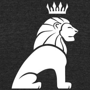 lion_king_white - Unisex Tri-Blend T-Shirt by American Apparel