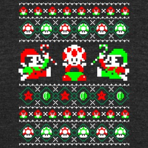 Super Christmas Bros - Unisex Tri-Blend T-Shirt by American Apparel