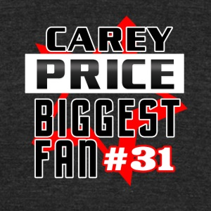 Carey Price 1fan - Unisex Tri-Blend T-Shirt by American Apparel
