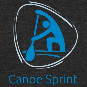 Canoe_sprint - Unisex Tri-Blend T-Shirt by American Apparel
