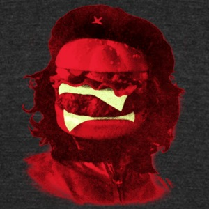 Che Burger - Unisex Tri-Blend T-Shirt by American Apparel