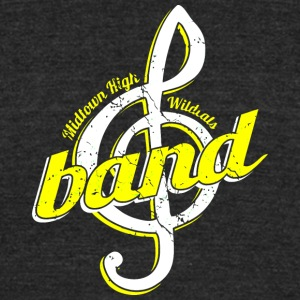 Midtown High Wildcats Band - Unisex Tri-Blend T-Shirt by American Apparel