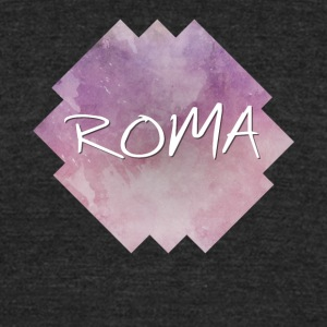 Roma - Rome - Unisex Tri-Blend T-Shirt by American Apparel