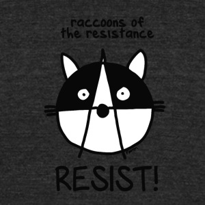 Join of the resistance Resist - Unisex Tri-Blend T-Shirt by American Apparel
