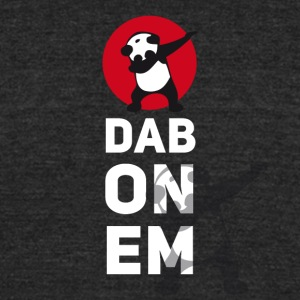 dab-pan - Unisex Tri-Blend T-Shirt by American Apparel