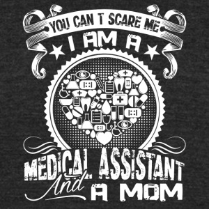 Medical Assistant And Mom Shirt - Unisex Tri-Blend T-Shirt by American Apparel