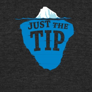Just The Tip Of The Iceberg - Unisex Tri-Blend T-Shirt by American Apparel