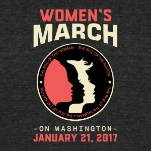 Women's March Washington - Unisex Tri-Blend T-Shirt by American Apparel