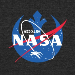 ROGUE NASA T-SHIRT - Unisex Tri-Blend T-Shirt by American Apparel