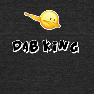 dab emojiiking dabbing football touchdown mooving - Unisex Tri-Blend T-Shirt by American Apparel