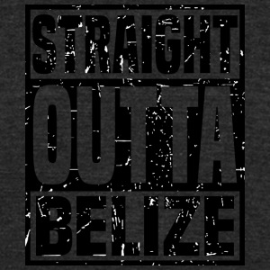 Straight Outta Belize - Unisex Tri-Blend T-Shirt by American Apparel