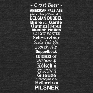 Craft Beer - Unisex Tri-Blend T-Shirt by American Apparel