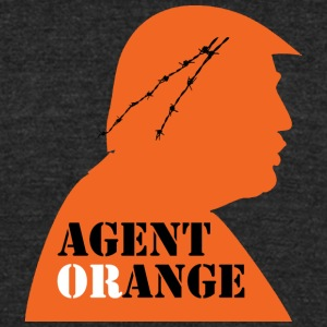 Agent Orange - Unisex Tri-Blend T-Shirt by American Apparel