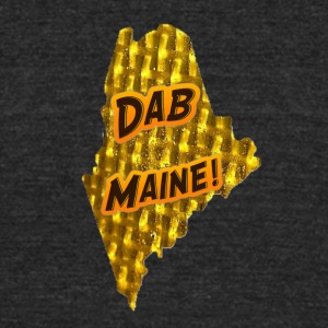DAB MAINE! - Unisex Tri-Blend T-Shirt by American Apparel