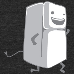 Refrigerator Running - Unisex Tri-Blend T-Shirt by American Apparel