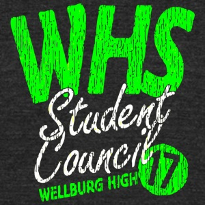 WHS Student Council WELLBURG HIGH 17 - Unisex Tri-Blend T-Shirt by American Apparel