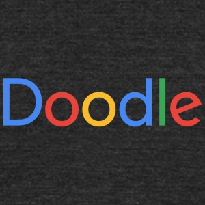 Doodle - Unisex Tri-Blend T-Shirt by American Apparel