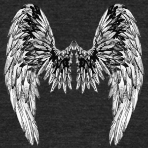 Wings steady - Unisex Tri-Blend T-Shirt by American Apparel
