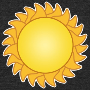 sun sol sunset sundown sunbeams sunshine sunflower - Unisex Tri-Blend T-Shirt by American Apparel