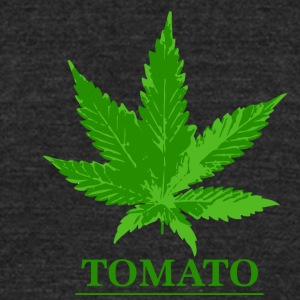 TOMATO WEED LEAF - Unisex Tri-Blend T-Shirt by American Apparel