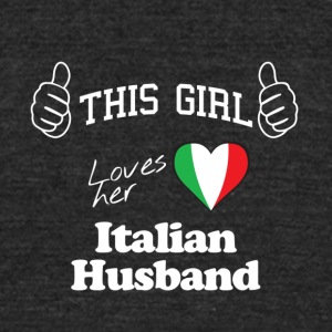 This girl loves - Unisex Tri-Blend T-Shirt by American Apparel