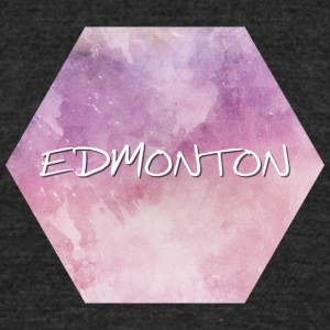 Edmonton - Unisex Tri-Blend T-Shirt by American Apparel