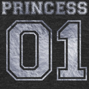 Princess_01_silver_1 - Unisex Tri-Blend T-Shirt by American Apparel