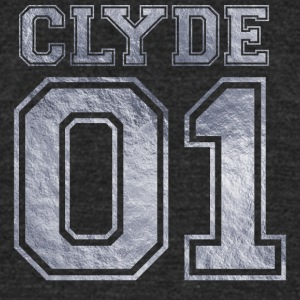 Clyde_01_silver_1 - Unisex Tri-Blend T-Shirt by American Apparel