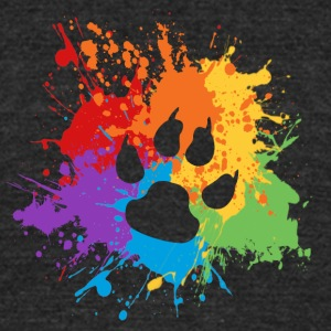 Furry Pride - Unisex Tri-Blend T-Shirt by American Apparel