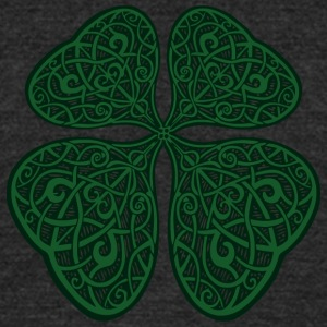 Celtic Luck - Unisex Tri-Blend T-Shirt by American Apparel