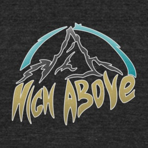 High Above - Unisex Tri-Blend T-Shirt by American Apparel