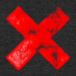xxx - Unisex Tri-Blend T-Shirt by American Apparel