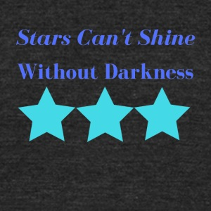 Stars - Unisex Tri-Blend T-Shirt by American Apparel