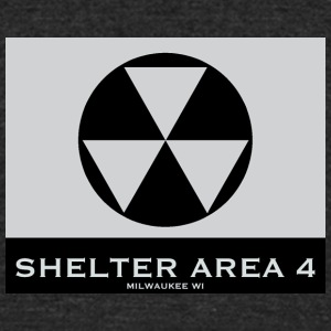 ShelterArea4 wallpaper gray - Unisex Tri-Blend T-Shirt by American Apparel