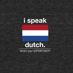 SUPERPOWER dutch - Unisex Tri-Blend T-Shirt by American Apparel