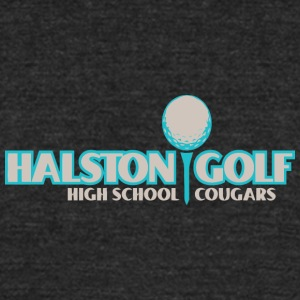 Halston Golf High School Cougars - Unisex Tri-Blend T-Shirt by American Apparel