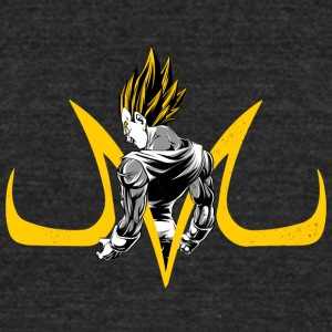 Majin Vegeta T Shirt - Unisex Tri-Blend T-Shirt by American Apparel