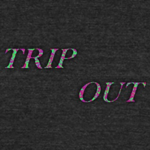 TRIP OUT PAINTBALL - Unisex Tri-Blend T-Shirt by American Apparel