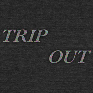 TRIP OUT CONFETTI - Unisex Tri-Blend T-Shirt by American Apparel