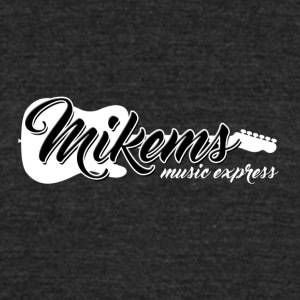 Mikems Music Express Logo - Unisex Tri-Blend T-Shirt by American Apparel